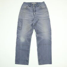 Destroyed Canvas Double Knee Tree Worker Pants 28 x 31 Sun Wash Faded Distressed