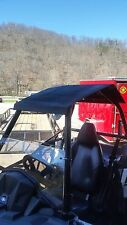 Polaris Sportsman ACE Front Half Windshield..1/4 THICK Polycarbonate!