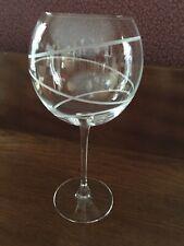 Mikasa Crystal Cheers Spiral Balloon Wine Glass