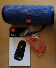JBL Flip 4 Bluetoots Lautsprecher - Blau (JBLFLIP4BLU)