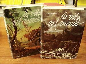 (Musmarra) La vita nel mondo organismo e ambiente 1960 Marzorati 2 volumi comple