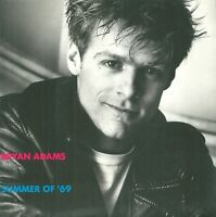 "Bryan Adams – Summer Of '69 7"" Vinyl 45rpm  Rare P/S Excellent Condition"