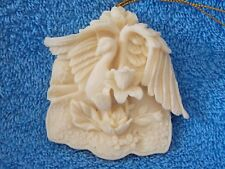 1997 Roman Inc 3D Swan Christmas Ornament
