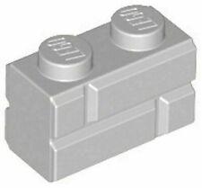 LEGO Brick 1x2 - Grey (98283)
