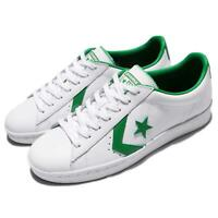 Converse PL 76 Cons Pro Leather Low White Green Leather Men Shoe Sneaker 157808C