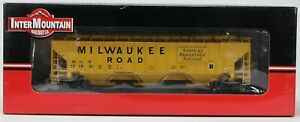 INTERMOUNTAIN 45350-17 MILWAUKEE ROAD PS4570 COVERED HOPPER #101031 NIB