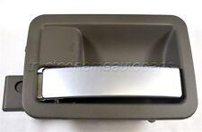 for Chrysler Dodge Inside Inner Door Handle Left Driver Side Tan Housing Silver