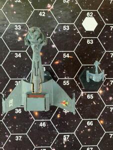 ADB SFB FASA Star Trek 2 Miniatures Klingon rare B10 Battleship /E3 squadron