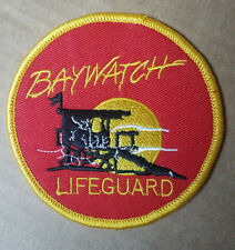 Baywatch Lifeguard Swimsuit Logo Patch 3 1/2 inches wide
