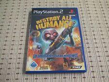 Destroy All Humans für Playstation 2 PS2 PS 2 *OVP*