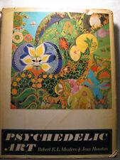 Psychedelic Art Robert E. L. Masters Jean Houston Color Plates 1968 Grove Press
