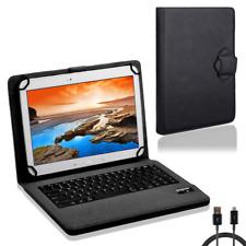Tasche Tastatur für Lenovo Tab 2 A10-70 Hülle Schutzhülle Bluetooth Case NAUC®