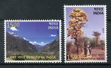 India 2017 MNH Beautiful India 2v Set Tourism Landscapes Trees Mountains Stamps