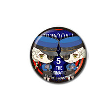 Persona 5 Prison Twin Collab Cafe Exclusive Character Can Badge Pin Type A