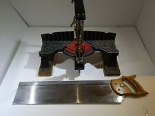 Craftsman Miter Box With Saw Model Number 881 - 36305