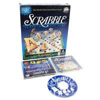 Scrabble for PC CD-ROM by Ubi Soft in Big Box, 1996, VGC, CIB