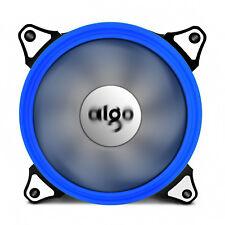 Aigo 120mm 12cm Halo Ring Neon BLUE LED Computer PC CPU Cooler Case Cooling Fan