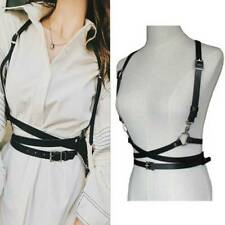 Women PU Leather Belts Harness Waist Suspenders Sexy Body Straps Belt Acce