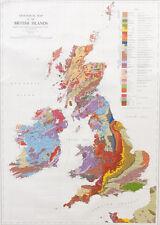 UK Geology Wallchart - 1:1 584 000 Geological Map of British Isles ✔UK Seller