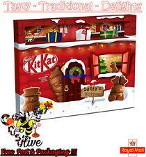 Kit Kat Santa's Workshop Chocolate Calendario de Adviento Navidad Navidad Cuenta Regresiva 216g