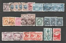 NEW ZEALAND 1898 PICTORIALS SIMPLIFIED SET (JF-F)