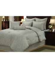 Welcome Industrial Prescott 8 Piece King Comforter Set Taupe/Ivory $312
