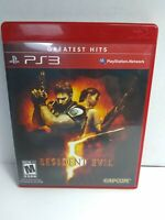 Resident Evil 5 Sony PlayStation 3 FREE FAST SHIPPING  10% donation to St. Jude