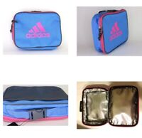 Adidas Foundation Lunch Box School Bag Soft Blue/Pink Side Sport Insulated NWT
