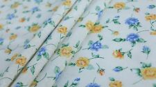 PRINTED POLYCOTTON FABRIC - ROSE DESIGN