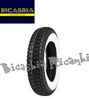 5470 - COPERTONE 3 00 10 FASCIA BIANCA VESPA 50 SPECIAL R L N 125 PRIMAVERA ET3