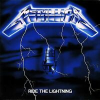 Metallica Ride The Lightning Vinyl LP Cover Sticker or Magnet
