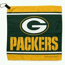 GREEN BAY PACKERS Sports Golf WAFFLE TOWEL FREE SHIPPING! NEW PRODUCT!