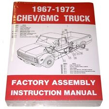 1967 1968 1969 1970 1971 1972 Factory Assembly Manual Chevrolet Chevy GMC Truck