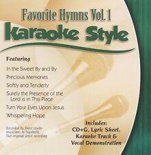 NEW Daywind Karaoke Style: Favorite Hymns, Vol. 1 (Audio CD)
