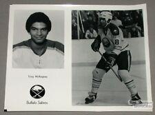 Original Late-70's Tony McKegney Buffalo Sabres Photo
