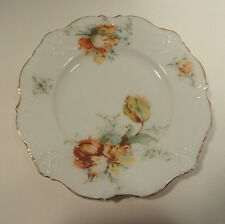 Vintage Small German Plate with Gold Trim