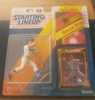 Nolan Ryan 1992. Baseball Starting Lineup , Texas Rangers