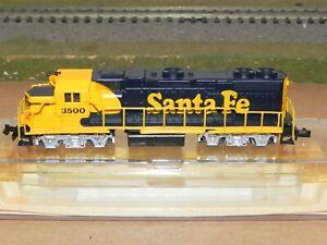 Life Like N Ga. Santa Fe GP-38 Powered Locomotive LNIB RUNS