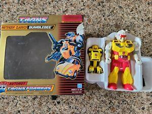 Transformers Original G1 1989 Pretender Bumblebee Complete w/ Box.