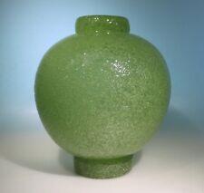 Murano Vase Entwurf C.  Scarpa für Venini 1935 pulegoso signiert