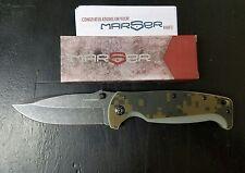 MARSER KAMPFER 6 FRAMELOCK CAMO FOLDING POCKET KNIFE KA6