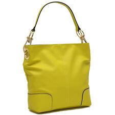 New Dasein Leather Shoulder Bag Tote Bag Handbag Travel Shop Purse Hobo Day Bag