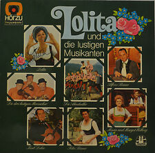 """LOLITA - UND DIE LUSTIGEN MUSIKANTEN - SIGNIERT 12"""" LP (T201)"""