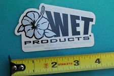 Wet Products Irvine Ca Aloha Flowers Surfboards Surf Fusion Surfing Sticker