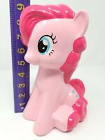 Hasbro My Little Pony Pinkie Pie Ceramic Coin Piggy Bank Pink FAB Starpoint 2014