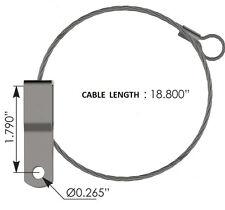 "KENWORTH HOOD CABLE  (18.8"" Length)  # KO68844"
