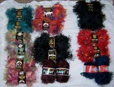 Lot Of 2 Eyelash Yarn - Fun Fur Or Happy - Many Colors Available