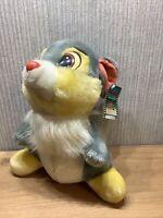 "Disney Thumper Plush Soft Toy Bambi Disney 10"" Bambi Collectable Rabbit Vintage"