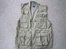 ExOfficio Travel Wear Mesh Vest Fishing Photography Pockets Outdoors Mens Large