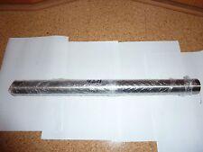 42,4 mm x 50 cm Edelstahl Rohr  Edelstahlrohr Rundrohr V2A geschliffen